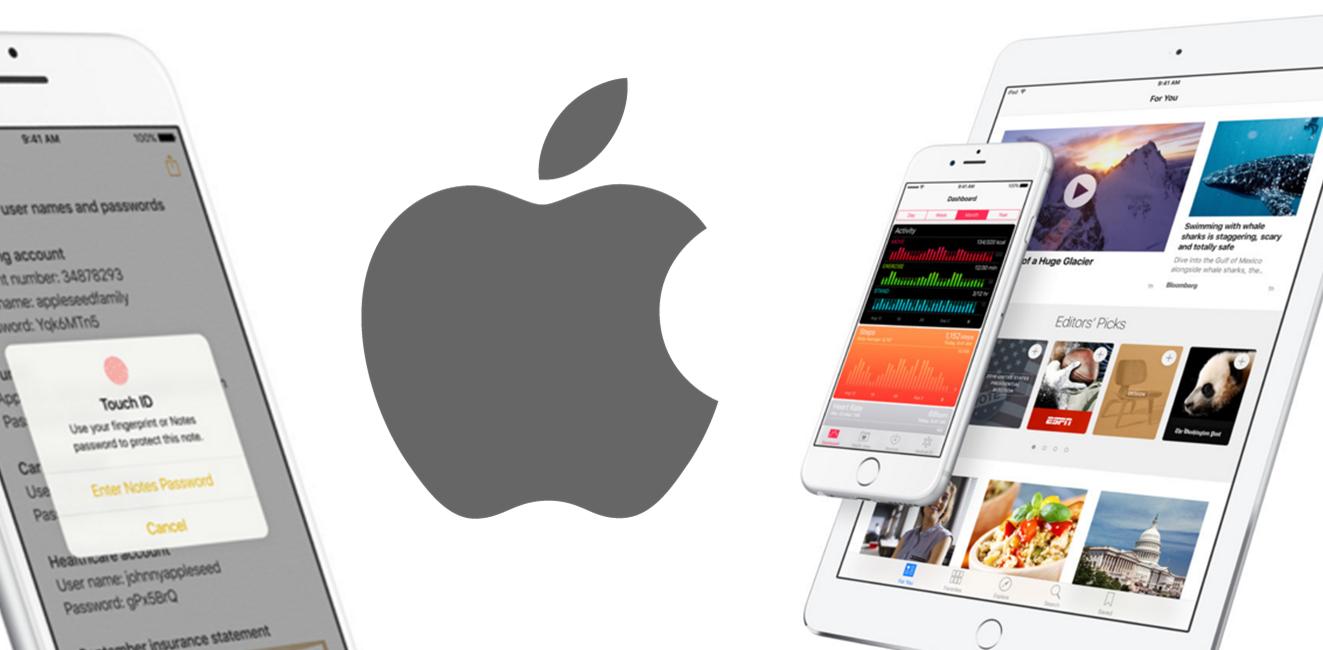 Apple iOS 9.3 apple libera beta do ios 9.3