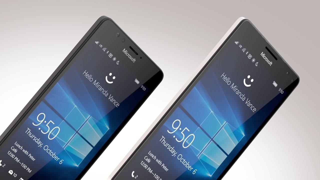 Lumia 950 scanner de íris
