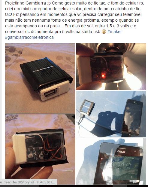 Carregador de celular com energia solar [tutorial] carregador de celular com energia solar