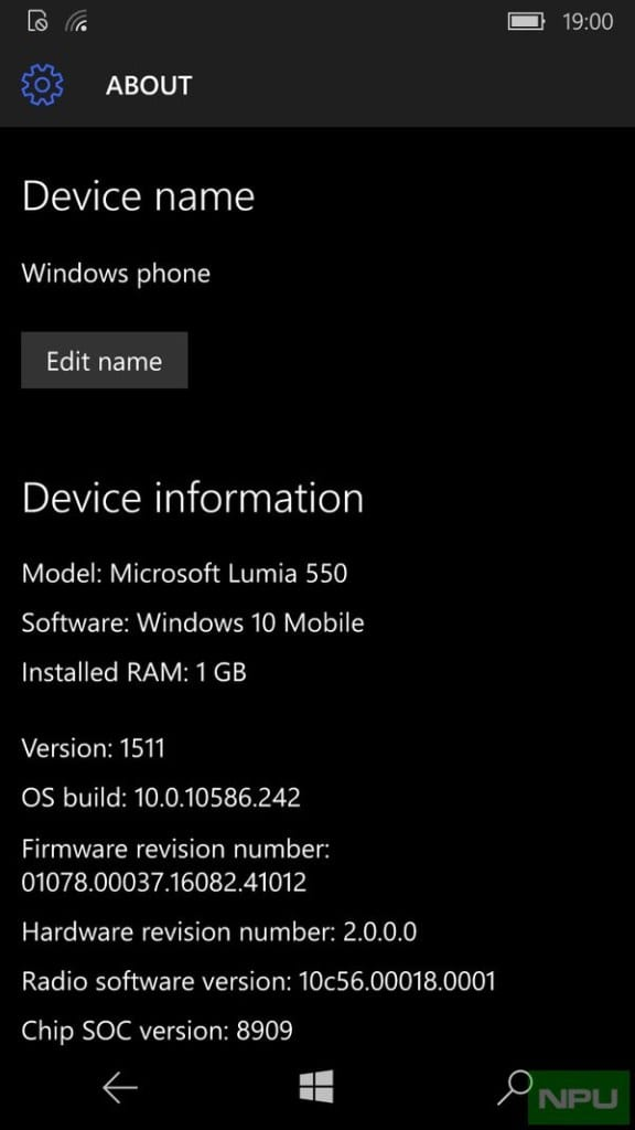 Windows 10 Mobile build 10586.242 está chegando ao windows 10 mobile oficial