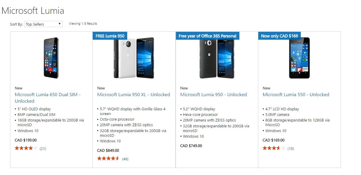 Lumia 950 microsoft oferece lumia 950 de graça na compra de 950xl