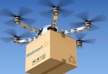 Walmart pretende enviar seus produtos via drones