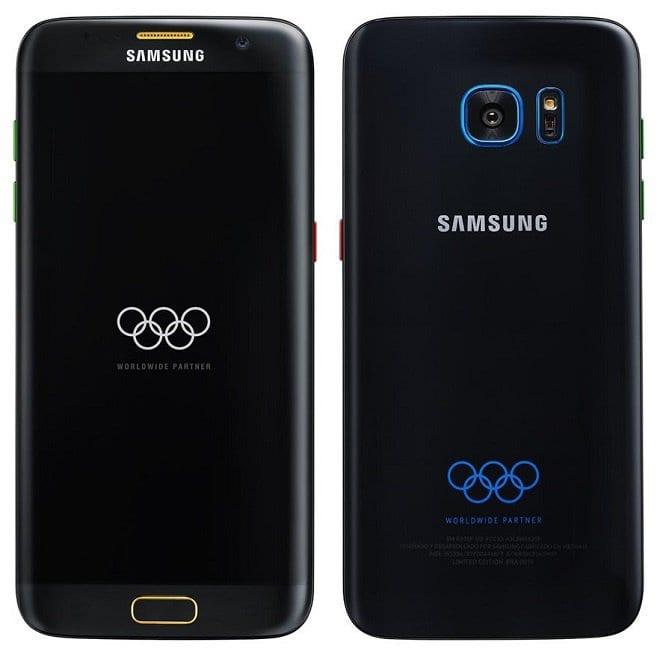 Galaxy S7 Edge rio 2016: imagem de galaxy s7 edge olympic vaza na internet