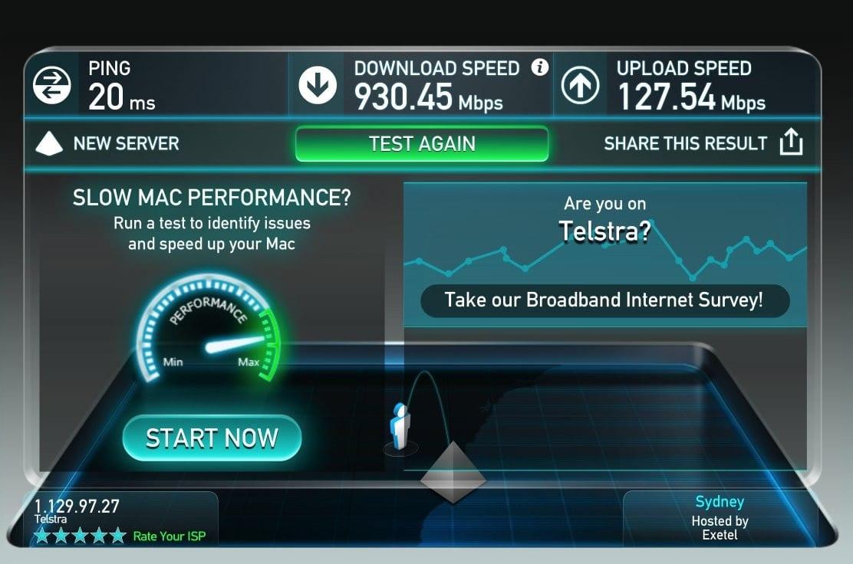 Austrália austrália lança internet lte 5g com velocidade de 1gb/s