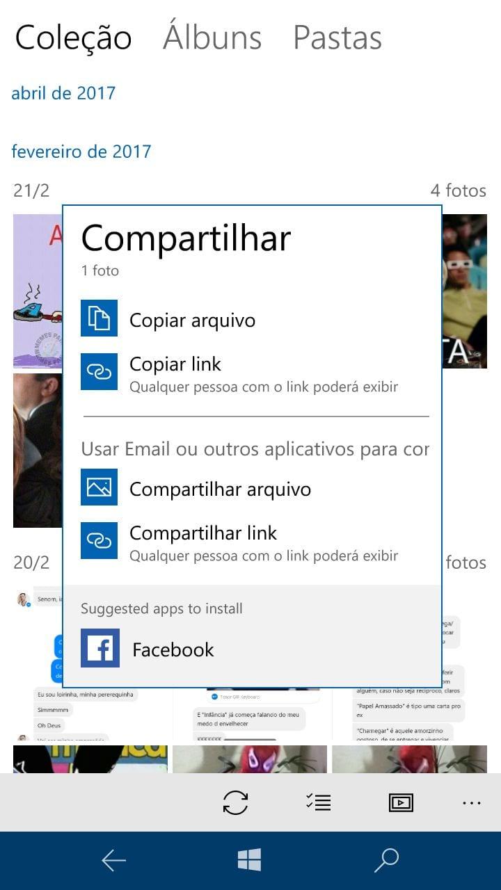 Windows 10 Mobile 'fotos' do windows 10 mobile recebe tema branco e mais velocidade