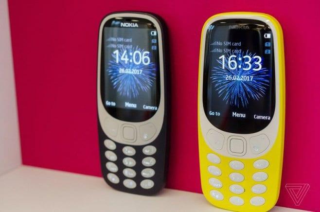 Nokia 3310 nokia 3310 está de volta com jogo da cobrinha e bateria 'infinita'