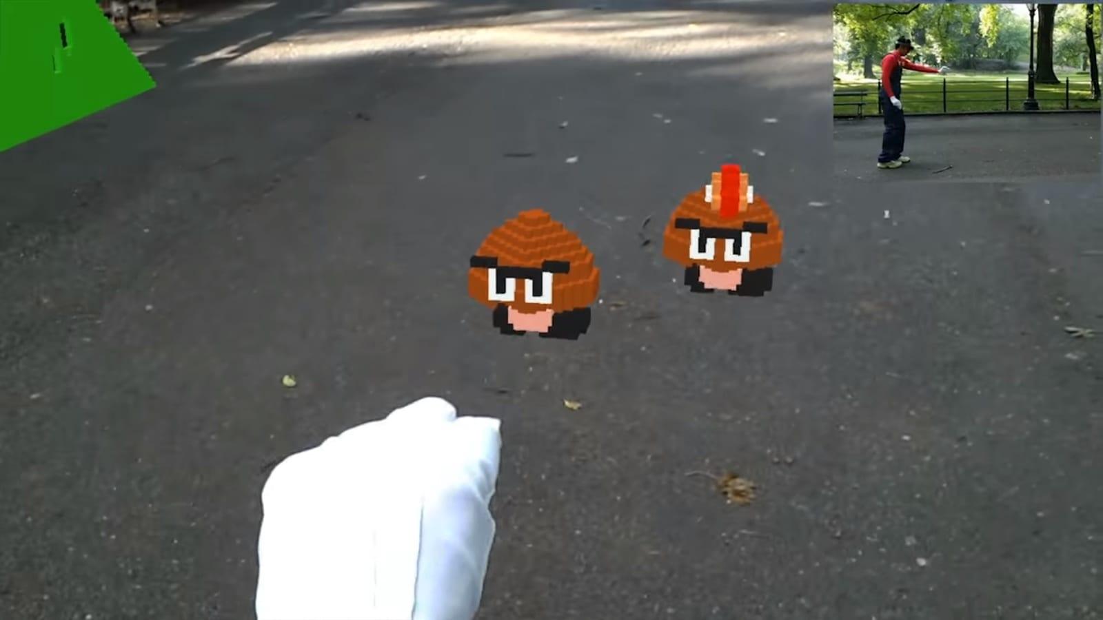 Vídeo mostra como é jogar 'Super Mario' com realidade aumentada