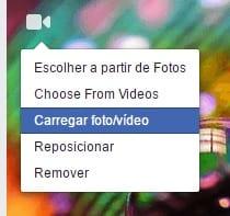 Como fazer um vídeo de capa para o Facebook