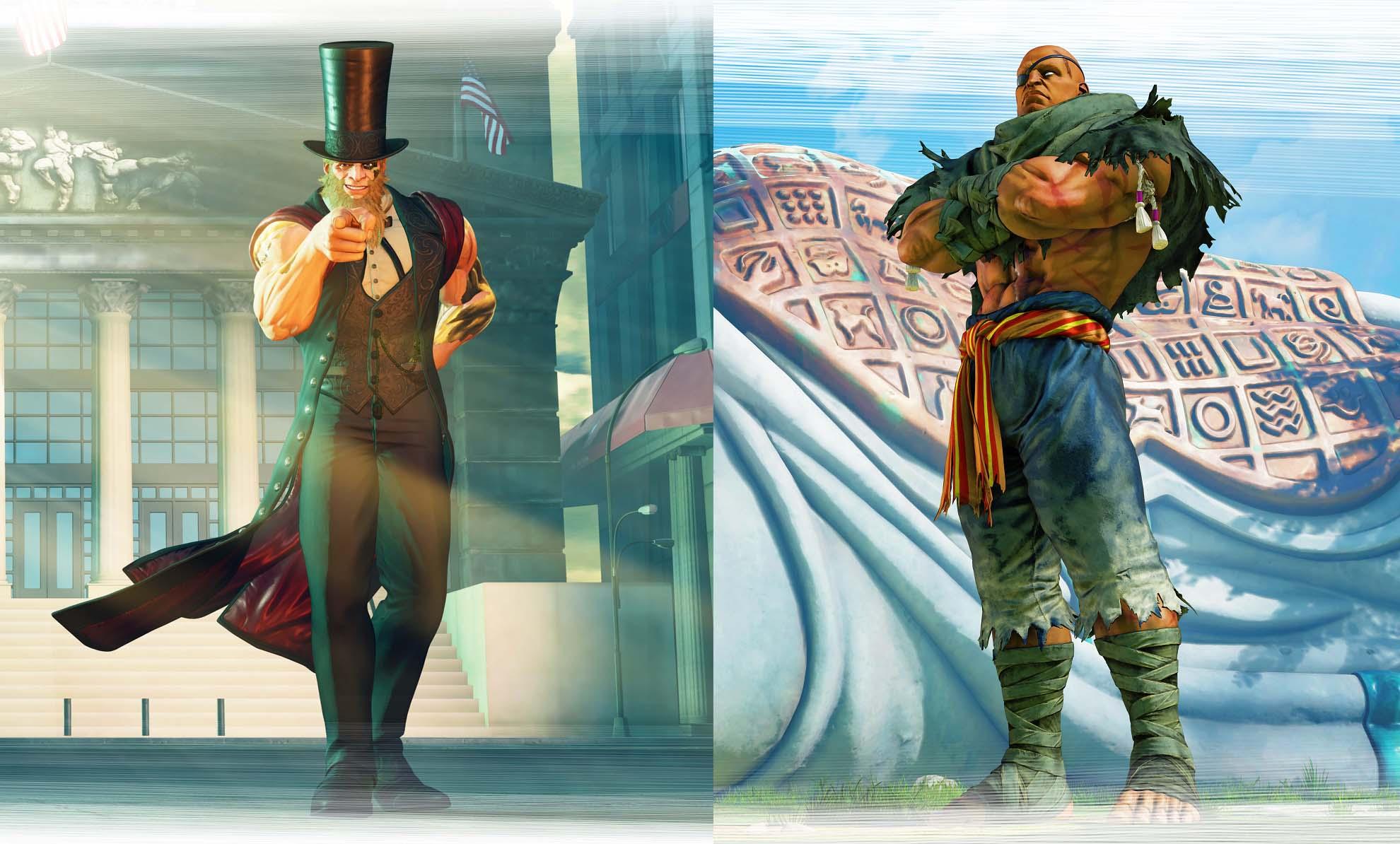 'street fighter v: arcade edition' apresenta um novo personagem inspirado em lincoln