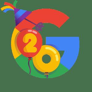 Google's 20th Birthday