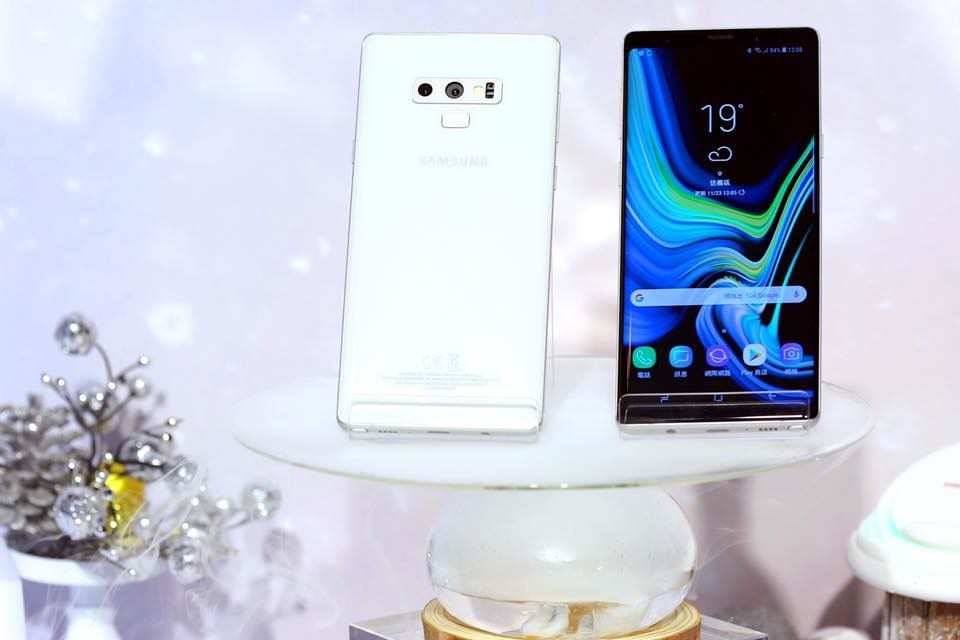 Galaxy Note 9 galaxy note 9 samsung note 9 branco galaxy note branco