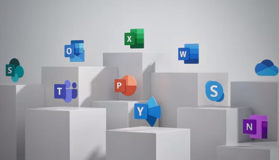 novos ícones do Office