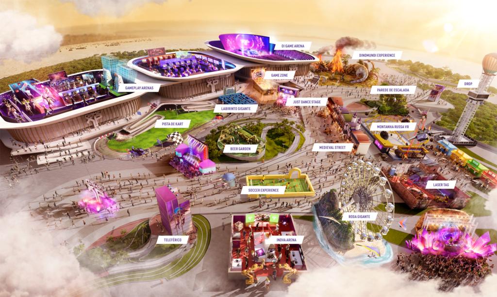 gamexp terá montanha-russa 'híbrida' que combina a realidade física com a virtual através da tecnologia vr