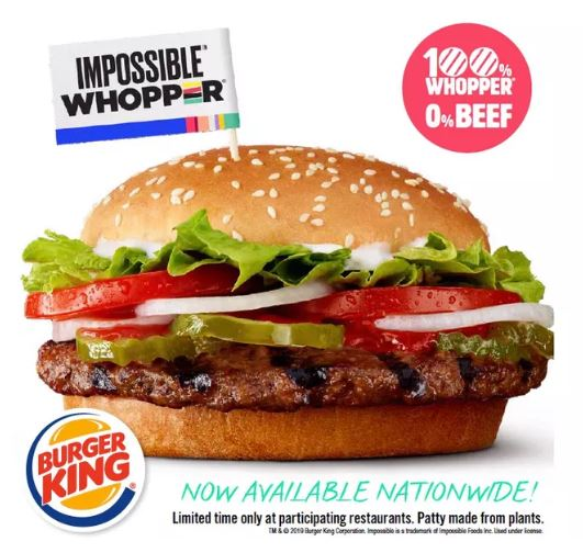 burger king lança hambúrguer com carne 'fake' e gosto idêntico